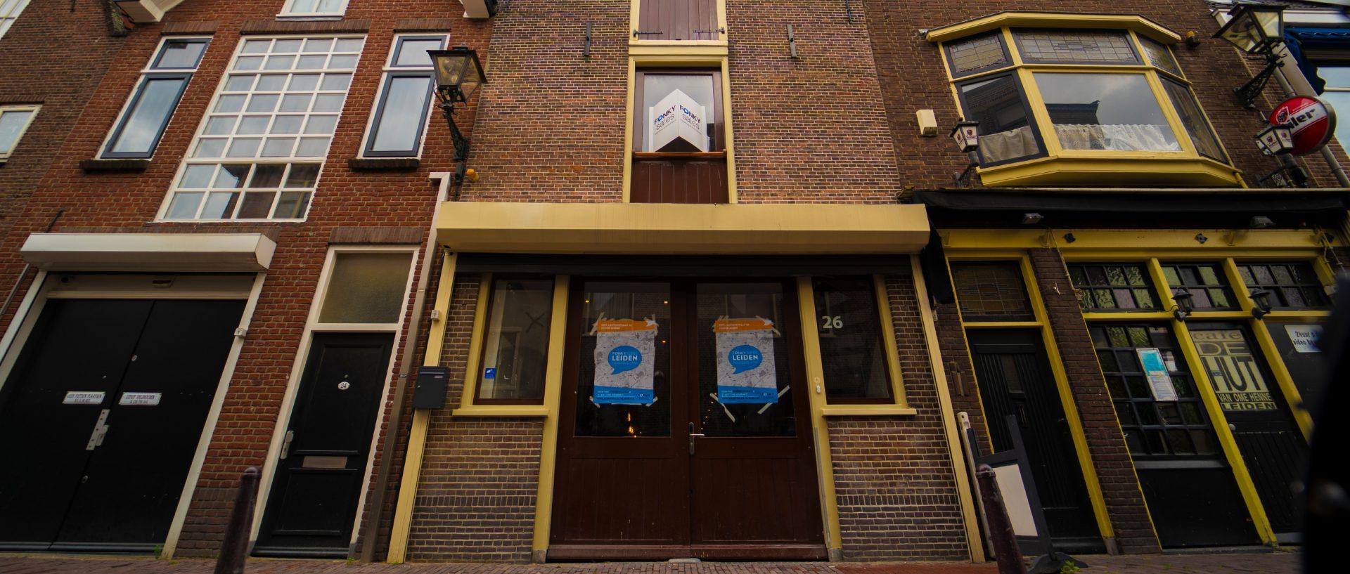 Pand bijbaan Leiden