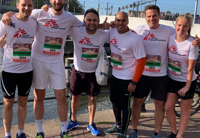 Fonky haalt rennend meer dan 800 euro op voor Artsen Zonder Grenzen!