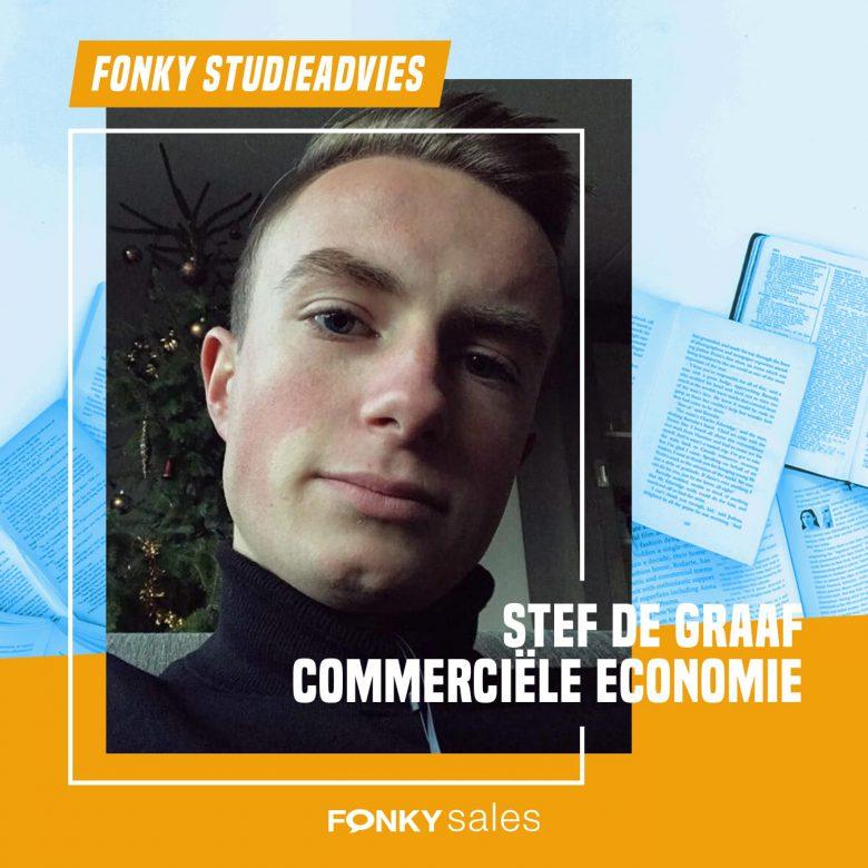 Fonkiaan Stef vertelt over zijn studie Commerciële Economie