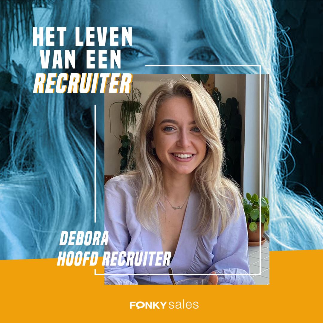 Hoofd Recruiter Debora