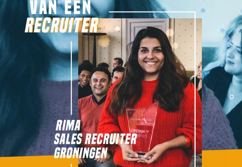 Het leven van een Recruiter – Sales Recruiter Rima